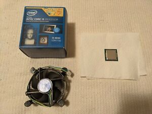 /überholt 3,50GHz, 6MB Cache, 84W, Grafik, Turbo Boost Technology 2.0, Sockel 1150 Intel i5 4690 Quad Core CPU