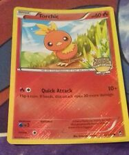 Torchic Furious Fists 12 Crosshatch City Promo Mint Pokemon Card