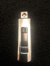 RECHARGABLE Electric Double Plasma  USB Windproof Flameless Cigarette Lighter