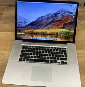 """Apple Macbook Pro 17"""" Inch Early 2011 i7 8gb- Fully Working"""