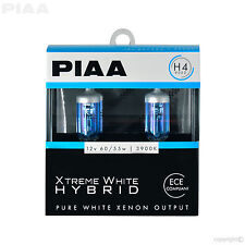 PIAA H4 (9003) XTREME WHITE HYBRID HALOGEN BULBS TWIN PACK 23-10104