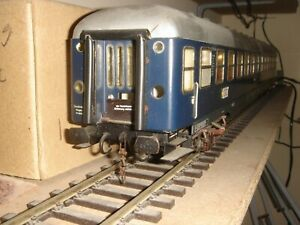 Passenger car, Bc4ümg, DB, MD bogies, 'TOUROPA', scale - 1: 45 (O), ELETTREN
