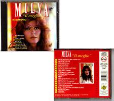 MILVA. IL MEGLIO. CD (Occhi Spagnoli) Discopiù ITALY 1994 E. Morricone