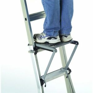 Gorilla Mighty Ladder Platform Step And Project Tray