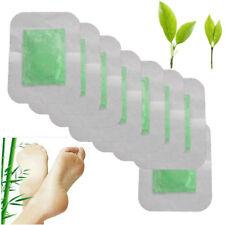 Sumifun 10Pcs Detox Foot Pads Patch 100% Natrual Cleaning Improve Sleep Z06308
