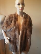 Schaffer and Gluck Decatur ILL cape, shaw, wrap mink excellent condition