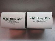 """Dept 56 Village Accessories """"Starry Lights """" 56 52684  2 Sets Tested/Works"""