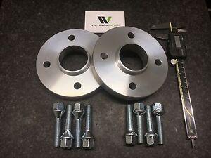 SUZUKI SWIFT 2005-2017 Hubcentric Wheel Spacers 20mm Wide 54.1cb & 8 Wheel Bolts