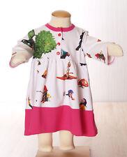 Dawanda Kinder Mädchen Jersey Kleid  Gr. 74 Handmade Farbenmix