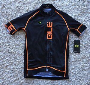 """Alé Men's Cycling Jersey PRR Carbon Graphics Size Large For 38"""" Ale Ref:CF3L"""