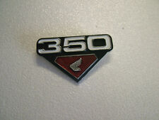 HONDA CB350 / CL350 '72, '73, MODELS SIDE COVER BADGE, NEW REPRODUCTION