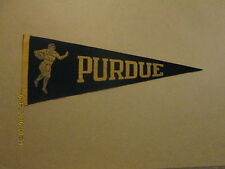 NCAA Purdue Boilermakers Circa 1940's Football Pennant