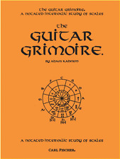 """The Guitar Grimoire-A Notated Intervallic Study Of Scales"" Music Book-New-Sale!"