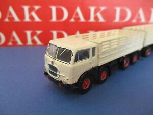 Modellino 1/87 Camion Truck Fiat 690 Millepiedi bianco by Brekina