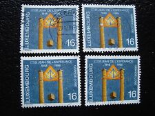 LUXEMBOURG - timbre yvert et tellier n° 1409 x4 obl (A30) stamp (A)