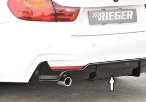 Rieger 88070 BMW F32/F33 4series Rear Diffuser Apron for M-Technic Rear Bumper
