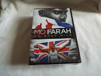 Mo Farah No Easy Mile  Region 2  NEW AND SEALED DVD
