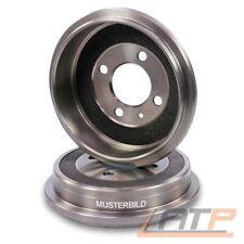 2x KRAFT AUTOMOTIVE Bremstrommel 6065060 für hinten RENAULT KANGOO FC0 KC0 1.2