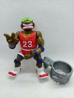 TMNT Teenage Mutant Ninja Turtles 1991 Slam Dunkin' Don w/ Accessories