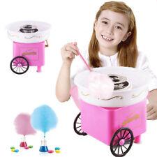 Machine électrique de barbe à papa MINI rose candy cotton maison bonbons 500W