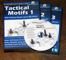 Tactical Motifs  - Complete Set - 3 DVDs - Chess Lecture  Chess DVD