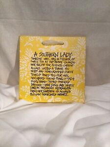 Southern Lady Wood Sign