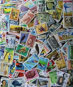 FRENCH COMMONWEALTH nice collection, 500 different mostly large stamps (lot#DP)