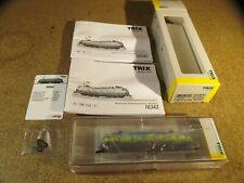 Minitrix e-Lok 103 220-0 --- Digital Sound --- 16343 --- OVP-nuevo