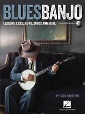Blues Banjo Sheet Music Lessons Licks Riffs Songs & More Banjo Book Au 000116844