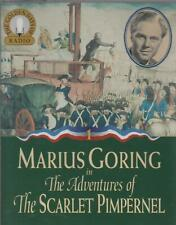 ADVENTURES OF THE SCARLET PIMPERNEL Starring Marius Goring ~ Cassette Audiobook