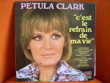 VINYL 33T – PETULA CLARK : REFRAIN DE MA VIE – 60'S POP MICHEL COLOMBIER - VOGUE