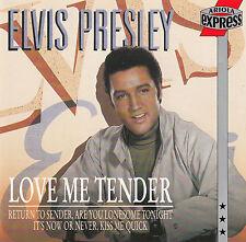 ELVIS PRESLEY : LOVE ME TENDER / CD - TOP-ZUSTAND