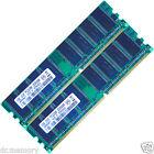 Memoria Ram 184 Pin 2gb (2x1gb) Ddr 266 Mhz Pc2100 Non-ecc Per Pc Desktop