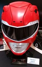 Mighty Morphin Power Rangers Legacy Red Ranger 1:1 Scale Helmet Replica