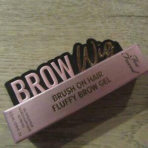Too Faced Brow Wig - Fluffy Brow Gel - Medium Brown - 5.5ML.