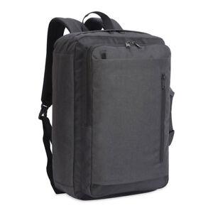 Shugon Bordeaux Laptop Briefcase Bag Backpack Hybrid Messenger Padded (SH5819)