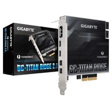 More details for gigabyte titan ridge 2.0 thunderbolt 3 pcie add in expansion card