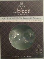 Jolee's Jewels Crystallized-Swarovski Elements  Flowers NIB