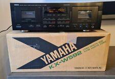 Yamaha Stereo Double Cassette Deck KX-W592
