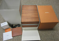 EBEL Limited Edition Watch Box & Winder Leather Wallet Instructions 3 Year Card