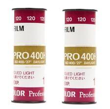 2 Rolls x Fujifilm FUJI Fujicolor PRO 400H 400 ISO 120 Color Negative Film 07/19