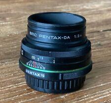 PENTAX Pentax SMCP-DA 70mm f/2.4 DA Lens