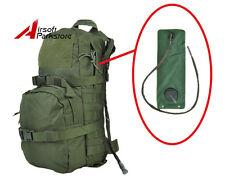 3L Tactical Molle Hydration Backpack Camelbak Pack Water Bladder Bag Olive Drab