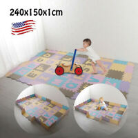 Useful Baby Play Mat With Fence Interlockin Foam Floor Tiles With Crawling Mat