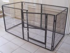 MargoTheDog Puppy Play Pen Dog Cage Whelping Pen 192x96cm - Modular Pen System