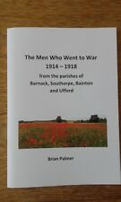 WW1 book: The Men Who Went to War by Brian Palmer