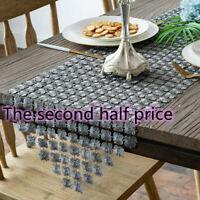Dustproof Modern Simple Table Runner Multifunction Home Dining Room For Wedding