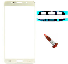 Gold front glass lens LCD Galaxy Note 5 N920 replacement UV LOCA Glue Adhesive