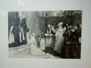1900s;FRANCE;MUSEE DE DIJON;PAINTING;BOURGERON;UNE PRISE D'HABITS AUX CARMELITES