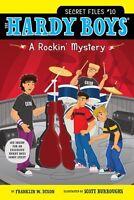 A Rockin Mystery (Hardy Boys: The Secret Files) by Franklin W. Dixon